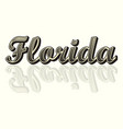 florida text background