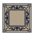 frame elements and page decoration classical vector image