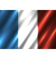 france national flag background vector image
