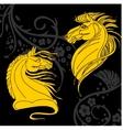 horse design - vector image vector image