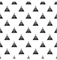 indian tent pattern seamless vector image