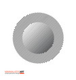 minimalistic art modern geometric design simple vector image vector image