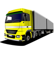 al 1026 truck vector image