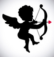 angel cupid vector image