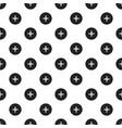 circle plus pattern seamless vector image vector image