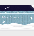 merry christmas happy new year written on the vector image vector image