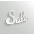 Sale Design Template Background vector image