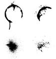 Splash of ink vector image