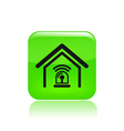 station alarm icon vector image vector image
