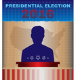 Usa 2016 Presidential Election Debates vector image