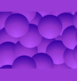violet gradient balls seamless pattern abstract vector image
