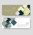 squares design modern abstract colors background vector image