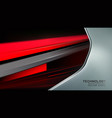 abstract trendy and technology concept vector image vector image