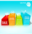 big sale design template vector image vector image