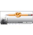 Pencil Scribble vector image