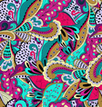 Seamless pattern background with abstract ornament vector image vector image