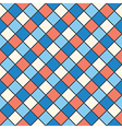 squares red blue cream colour vector image