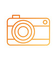 travel vacation photo camera device icon vector image