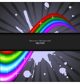 abstract rainbow spectrum background vector image vector image