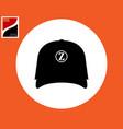 blazer headwear vector image vector image