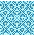 Blue circles background vector image