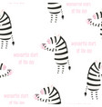 cute pattern zebra vector image vector image