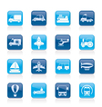 Different kind of transportation icons vector | Price: 1 Credit (USD $1)