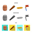 isolated object journey and seafaring icon set vector image vector image