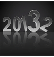 New year 2013 background vector image vector image