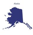 United States Alaska vector image