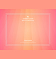 abstract gradient peach of living coral modern vector image vector image