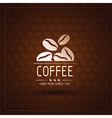 coffee bean vector image