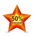 Discount Tag vector image vector image