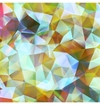 Geometric color background EPS 10 vector image