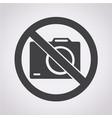 no photo icon vector image vector image