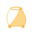 sack bag pouch vector image