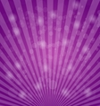 Abstract bokeh on purple background vector image vector image