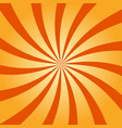 abstract retro swirling radial pattern background vector image vector image