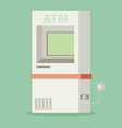 atm machine - vector image