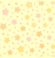chaotic stars pattern background vector image