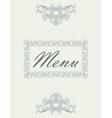 menu08 vector image vector image