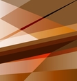 Orange abstract background design template vector image vector image