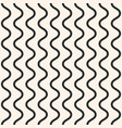 seamless pattern vertical wavy lines simple vector image vector image