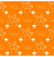 Seamless wedding pattern vector image