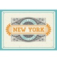 000 newyork design vector image vector image