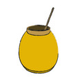 delicious sweet honey vector image