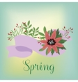 Flowers isolated vector image