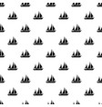 sailing ship pattern seamless vector image