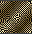 seamless striped geometric luxury pattern vector image vector image