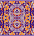 symmetrical ornate wallpaper seamless vintage vector image vector image